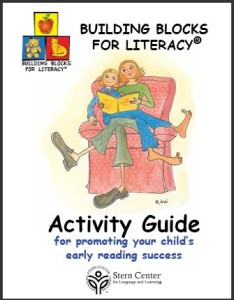 An Activity Guide for Parents to promote early reading success